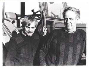 John and Michael Metcalfe 1987